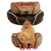 Large Size Self-warming soft pet bed