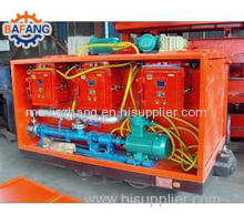 mining mobile fire-fighting grouting device