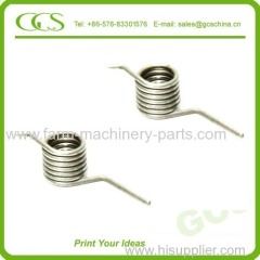 coils torsion spring wire forming of double torsion spring double end springs metal spiral torsion spring