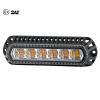 "18W 5.5"" ECE R65 SAE J845 LED Strobe Warning Light Head"