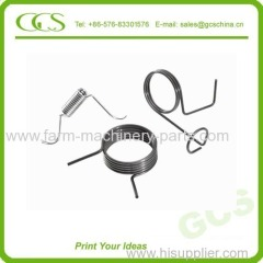 double torsion springs wire form spiral spring double wheel torsion drawing spring spiral twist torsion spring