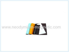 isotropic High Quality PVC Covered Rubber Magnet Flexible Magnet