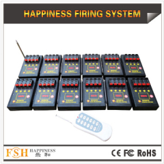Liuyang Happiness Fireworks 48 channels CE passed 150m remote firing system