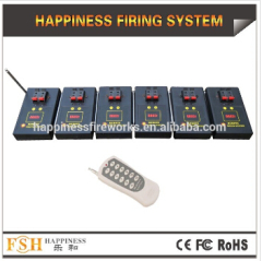 CE/FCC passed 12 cues fireworks firing system 100 M Remote Fireworks Firing System pyrotechnic fire system