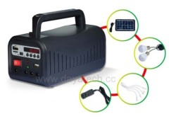 Dayatech home solar lighting system with USB Radio