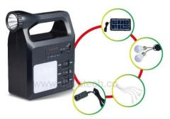 Dayatech Home Solar Lighting System with USB Speaker