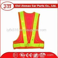 Mesh Pvc Reflective Tape Roadway Safety Vest