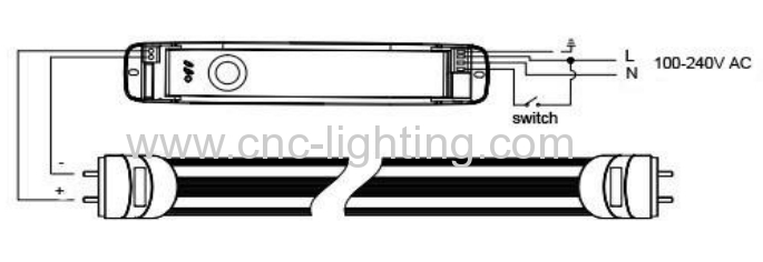 0 6m 1 2m 1 5m 1 8m linear tubular emergency led t8 tube