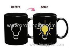 Promotional Customized Heat Sensitive Color Changing Mugs