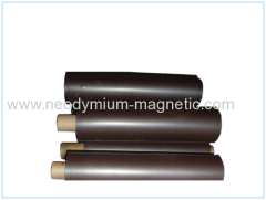 Isotropic rubber magnet flexible magnet with adhesive