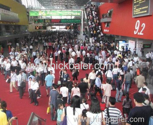 we attend the sino-corrugated fair in 2014 ,shanghai,china