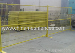 6ftX10ft Temporary Steel Fence Panel for Construction site security