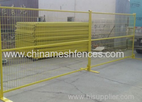 Colourful PVC or Powder-coating Portable Fence Panel