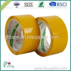 Yellow-Ish Adhesive BOPP Packing Tape (BOPP Film and Water-Based Acrylic)