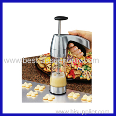 COOKIE PRO CAKE MACHINE CAKE PRO 25PCS COOKIE PRESS PUMP MACHINE BISCUIT MAKER CAKE CUTTER DECORATING SET