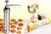 COOKIE PRO CAKE MACHINE CAKE PRO 25PCS COOKIE PRESS PUMP MACHINE BISCUIT MAKER CAKE CUTTER DECORATING SET