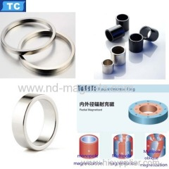 radial oriented ring magnet