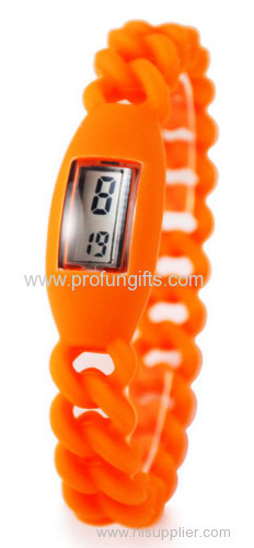 Hot sell silicone bracelets Watch