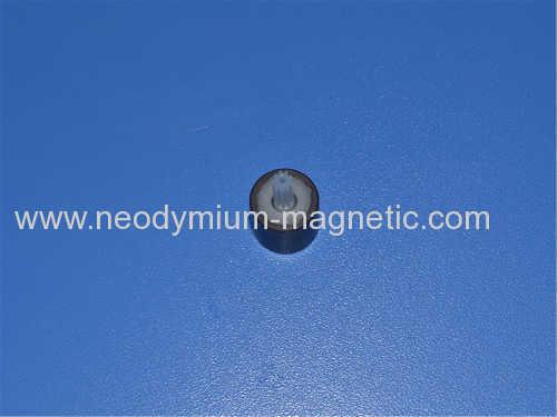 PA6 Plastic ferrite injection motor magnet