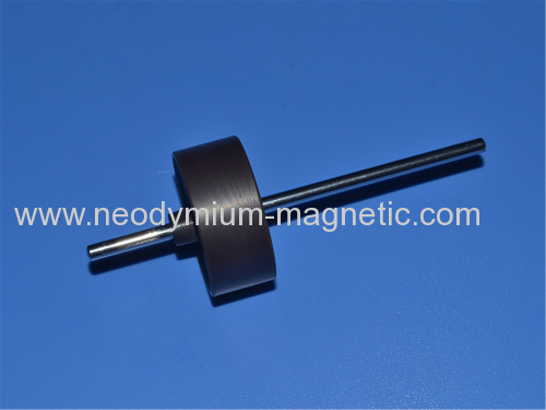 motor rotor plastic injection ring magnet with 4 POLES