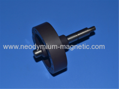 plastic ferrite injection magnet for motor rotor with 16 poles magnetization