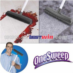 One Sweep Rubber Broom