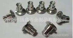 stainless raised head step rivet