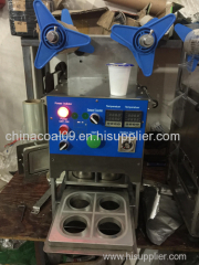 Commercial Manual Electric Heating Sealing Machine Cup Sealer Packaging Machinery
