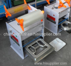 800cups/Hour Standard Semi-Auto Cup Sealing Machine Packaging Machinery