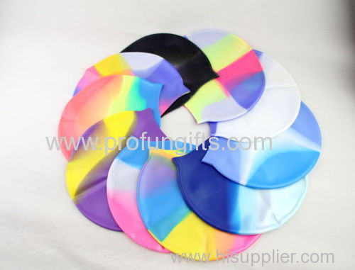 High quality Soft silicon swimming cap