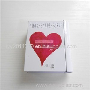 Book Shape Tin Candy Box