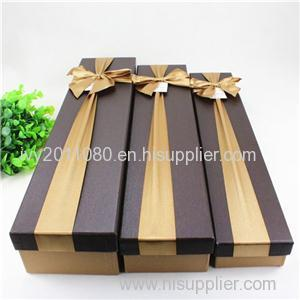 Ribbon Bowknot Paper Gift Box