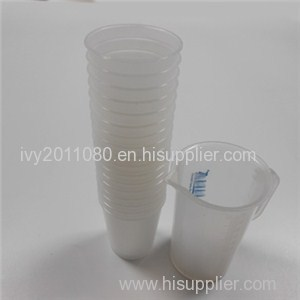 Plastic Cups With Scale