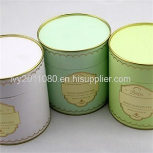 Cylinder Paper Candle Box