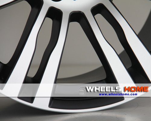 Staggered replica alloy wheels X5 for BMW, REP 705