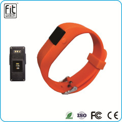 Heart Rate Wearable Technology Smart Silicone Bracelets