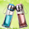 Promot quality water bottle with stainless steel cap