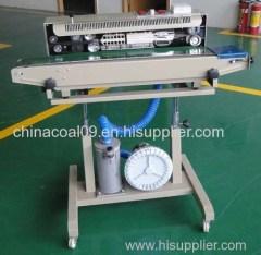 Gas Insert Continous Sealing Machine Packaging Machinery Continous Sealer