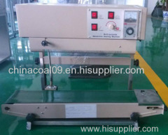 SF-150 Stainless Steel Packaging Machinery Vertical Continuous Band Sealer