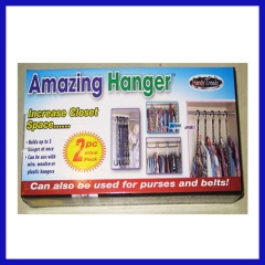 PERFECT AMAZING HANGER BE MADE OF PLASTIC