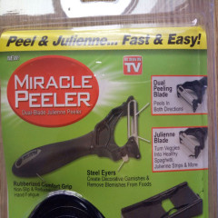 2 in 1 julienne peeler Miracle Peeler