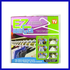 EZ hanger clothes rack plastic clothes rack