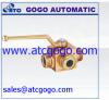 hydraulic 3 ways ball valve hand valve