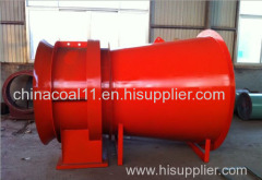 13.The FBDCZ series Mining Disrotatory Explosion Proof Extract Axial Flow Ventilation Fan