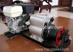 3 Ton Portable Gasoline Powered Winch