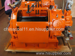 Heavy Duty 10 Ton Pneumatic Air Winch with Air Cylinder Brake