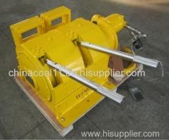 8 KN Air Scraper Winch with Scraper Pan
