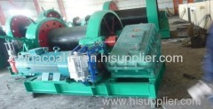 Electric Mine Shaft Sinking Wire Winder Slow Lifting Speed Winch
