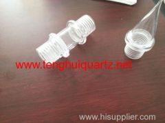 High temperature resistant quartz processing part 1