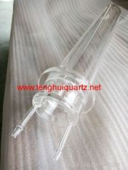 High temperature resistant quartz processing part 2